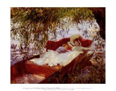 PF672~Deux-femmes-endormies-dans-un-canot-sous-les-saules-Affiches-1.jpg
